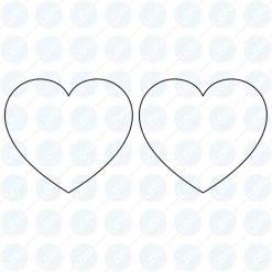 Heart Punch Die Stamp Set for TDP 0, TDP 1.5, TDP 5, TDP 6 Pill Press Tablet Machine