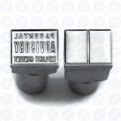 Parental Advisory Punch Die Stamp Set for TDP 0, TDP 1.5, TDP 5, TDP 6 Pill Press Tablet Machine For Sale